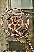 Railroad Passenger Car locking hmechanism, Oregon