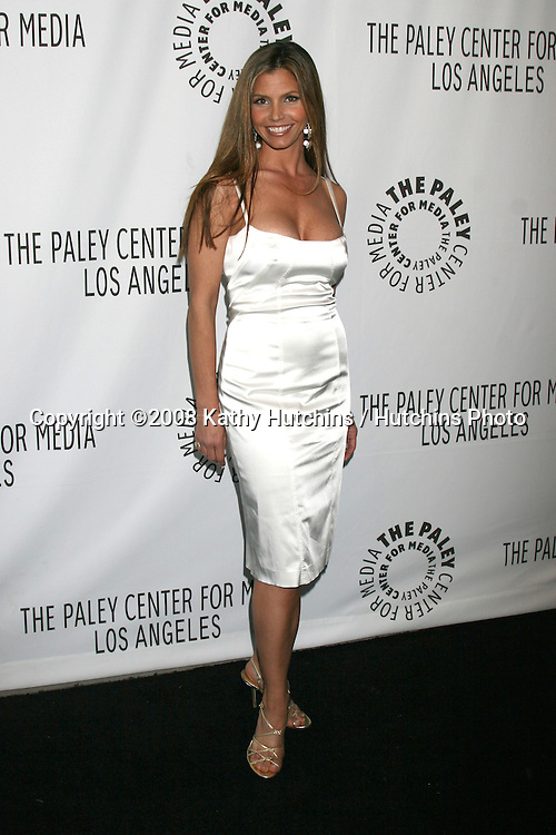 "Charisma Carpenter.""Buffy the Vampire Slayer"" Reunion- PaleyFest08.Paley Center for Media's 24th William S. Paley Television Festival.ArcLight Theater.Los Angeles, CA.March 20, 2008.©2008 Kathy Hutchins / Hutchins Photo"