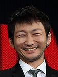 Kazuki Namioka of 'HIBANA' attends Netflix contents presentation at Nicofare Tokyo Japan on 27 Jun 2016. (Photo by Motoo Naka/AFLO)