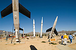 Rocket and missile museum at the White Sands Missile Range