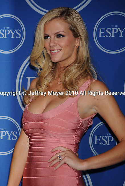LOS ANGELES, CA. - July 14: {object) poses in the press room during 2010 ESPY Awards at Nokia Theatre L.A. Live on July 14, 2010 in Los Angeles, California.
