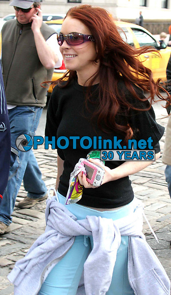 New York City<br /> CelebrityArchaeology.com<br /> 2005 FILE PHOTO<br /> LINDSAY LOHAN AND SAMAIRE ARMSTRONG<br /> Photo by John Barrett-PHOTOlink.net<br /> -----<br /> CelebrityArchaeology.com, a division of PHOTOlink,<br /> preserving the art and cultural heritage of celebrity <br /> photography from decades past for the historical<br /> benefit of future generations.<br /> ——<br /> Follow us:<br /> www.linkedin.com/in/adamscull<br /> Instagram: CelebrityArchaeology<br /> Twitter: celebarcheology