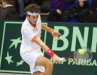 06-03-11, Tennis, Oekraine, Kharkov, Daviscup, Oekraine - Netherlands,  Robin Haase