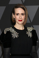 HOLLYWOOD, CA - NOVEMBER 11: Sarah Paulson at the AMPAS 9th Annual Governors Awards at the Dolby Ballroom in Hollywood, California on November 11, 2017. <br /> CAP/MPI/DE<br /> &copy;DE/MPI/Capital Pictures