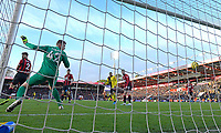 Mark Travers of Bournemouth watches the shot from Troy Deeney of Watford hit the back of the net for the second goal during AFC Bournemouth vs Watford, Premier League Football at the Vitality Stadium on 12th January 2020