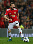 Juan Mata of Manchester United during the Champions League Group A match at the Old Trafford Stadium, Manchester. Picture date: September 12th 2017. Picture credit should read: Andrew Yates/Sportimage