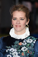 """LONDON, UK. December 12, 2018: Edith Bowman at the UK premiere of """"Mary Poppins Returns"""" at the Royal Albert Hall, London.<br /> Picture: Steve Vas/Featureflash"""