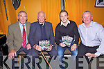 The Secret is Out - At the launch of 'Secrets of Kerry - A Captains Story' in Ca?itins Bar, Kells on Friday night were L-r; Weeshie Fogarty, Jas Murphy(oldest living winning Captain 1953),Darren O'Sullivan(current winning Captain 2009) & Christy Riordan(CR Videos).
