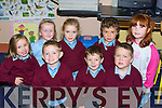 HAPPY: The junior infants class of Knockanes NS, Headford, Killarney happy with their first week of school..   Copyright Kerry's Eye 2008