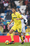 Rodrigo Hernandez Cascante, Rodri, of Villarreal CF in action during the La Liga 2017-18 match between Real Madrid and Villarreal CF at Santiago Bernabeu Stadium on January 13 2018 in Madrid, Spain. Photo by Diego Gonzalez / Power Sport Images