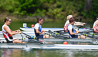 Lucerne, SWITZERLAND<br /> <br /> ITA W2X. Bow. Luara SCHIAVONE and Giada COLOMBO. 2016 European Olympic Qualifying Regatta, Lake Rotsee.<br /> <br /> Sunday  22/05/2016<br /> <br /> [Mandatory Credit; Peter SPURRIER/Intersport-images]