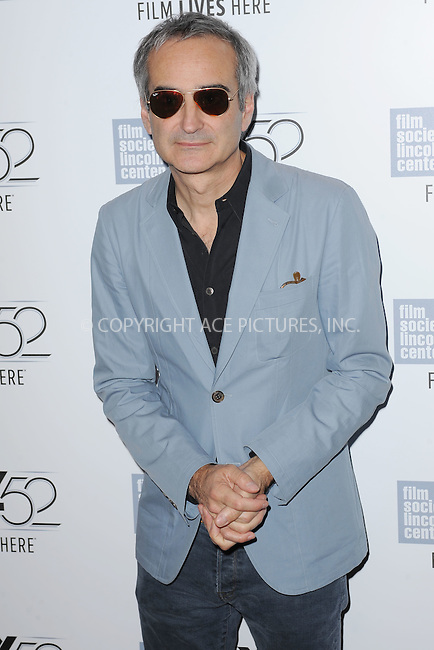 WWW.ACEPIXS.COM<br /> October 8, 2014 New York City<br /> <br /> Olivier Assayas attending a screening of 'Clouds Of Sils Maria'  during the 52nd New York Film Festival at Alice Tully Hall on October 8, 2014 in New York City<br /> <br /> By Line: Kristin Callahan/ACE Pictures<br /> ACE Pictures, Inc.<br /> tel: 646 769 0430<br /> Email: info@acepixs.com<br /> www.acepixs.com