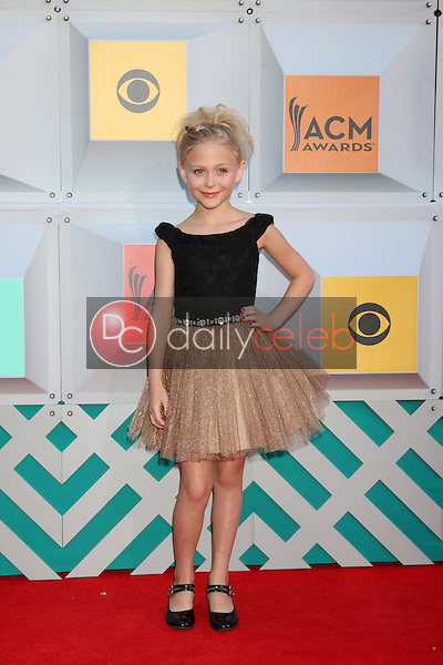 Alyvia Alyn Lind<br /> at the 2016 Academy of Country Music Awards Arrivals, MGM Grand Garden Arena, Las Vegas, NV 04-03-16<br /> David Edwards/DailyCeleb.com 818-249-4998
