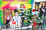 Becky Kelly Killarney, Nicole McCarthy Kilcummin, Ava O'Callagham firies, Laura Ahern and Kate Ahern Killarney who were voted the best girls fancy dress at Birds Amusements on Thursday