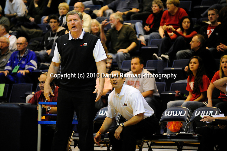 Cal Poly-Pomona defeats BYU-Hawaii 78-75 in the final round of the NCAA Division II West Regional Tournament at Western Washington University in Bellingham, Wash. Monday March 15, 2010. Photo by Daniel Berman/www.bermanphotos.com