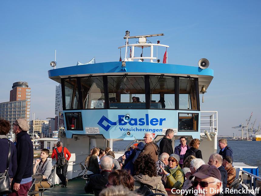 Hafenf&auml;hre in Hamburg, Deutschland, Europa<br /> Ferry in port of  Hamburg, Germany,  Europe