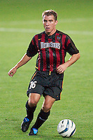 Richie Williams of the MetroStars. The New England Revolution were defeated by the NY/NJ MetroStars 2-1 during quarterfinals action of the Lamar Hunt U.S. Open Cup on 8/27/03 at Yurcak Field, Rutgers University, Piscataway, NJ..