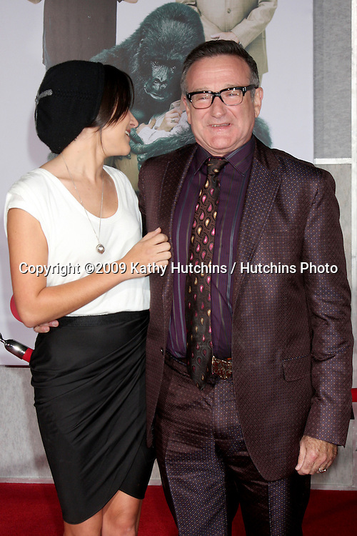 Zelda & Robin Williams.arriving at the Old Dogs World Premiere.El Capitan Theater.Los Angeles,  CA.November 9, 2009.©2009 Kathy Hutchins / Hutchins Photo.