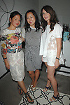 Sylvia Chivaratanond, Celia Chen, Kelly Lamb==<br /> LAXART 5th Annual Garden Party Presented by Tory Burch==<br /> Private Residence, Beverly Hills, CA==<br /> August 3, 2014==<br /> &copy;LAXART==<br /> Photo: DAVID CROTTY/Laxart.com==