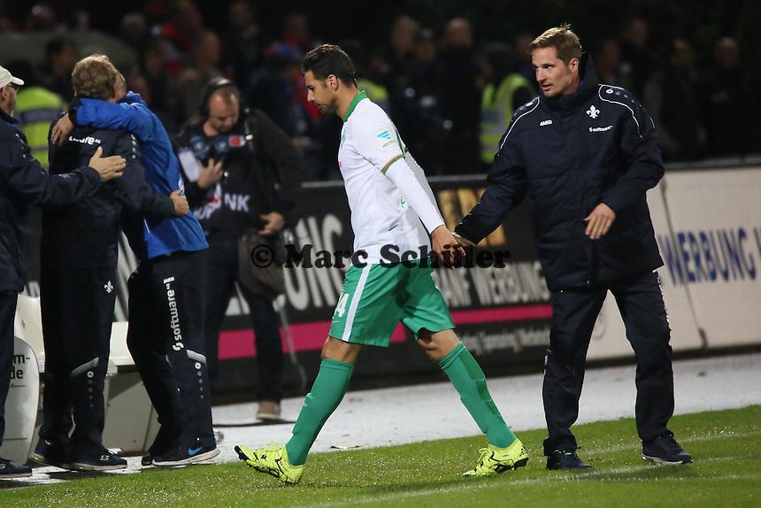 22 09 2015 Sv Darmstadt 98 Vs Sv Werder Bremen Stadion Am