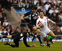 Twickenham; GREAT BRITAIN; Harry ELLIS finds the space to run at Scotland; during the; England vs Scotland; Calcutta Cup Rugby match played at the; RFU Twickenham Stadium on Sat 03.02.2007; Photo, Peter Spurrier/Intersport-images....