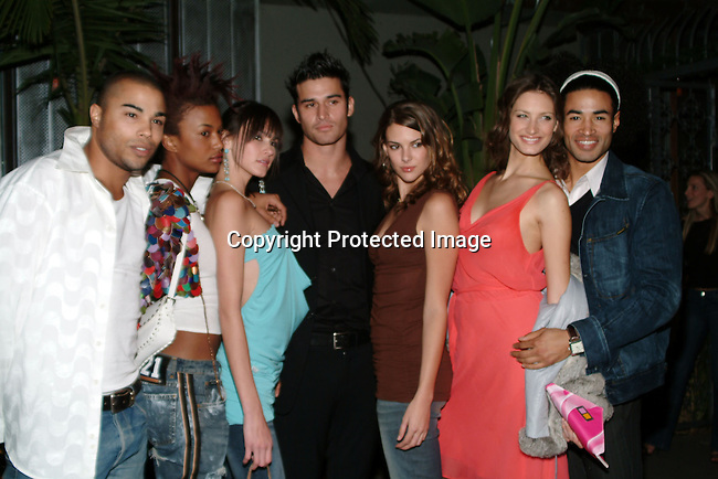 L.A. Models Char Michelle, Kira, Jay, Veronica Taylor, Annique Delphine &amp; Sharif<br />LA Models / Exclusive Artists Management and LA<br />Talent are holding their annual holiday bash<br />White Lotus<br />Hollywood, CA, USA<br />Tuesday, December 16, 2003 <br />Photo By Celebrityvibe.com/Photovibe.com