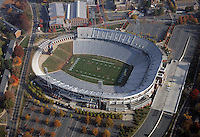 UVa football stadium, scott stadium, aerial
