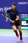 8th September 2017, Flushing Meadows, New York, USA;  RAFAEL NADAL (ESP) during day twelve match of the 2017 US Open on September 08, 2017 at Billie Jean King National Tennis Center, Flushing Meadow, NY.