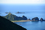 Orchid Island (蘭嶼), Taiwan -- Battleship Rock seen from the high-vantage point of the Orchid Island weather station.