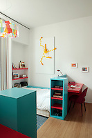 A secon and matching child's bedroom also has a painting by Rostan Tavasiev