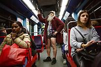No Pants Subway Ride Lisbon 2020