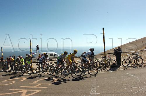 2009, Tour de France, Montelimar - Mont Ventoux, Astana, Saxo Bank, Armstrong Lance, Contador Alberto, Schleck Andy, Schleck Frank, Le Mont Ventoux 24th July 2009 Stage 20 Montelimar to Mont Ventoux (Photo: Stefano Sirotti/ActionPlus)