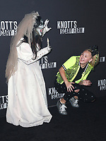 BUENA PARK, CA - SEPTEMBER 29:  Jojo Siwa at Knott's Scary Farm & Instagram's Celebrity Night at Knott's Berry Farm in Buena Park, California on September 29, 2017. Credit: Faye Sadou/MediaPunch