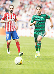 Atletico de Madrid's Juanfran Torres and Real Betis's A. Cejudo during BBVA La Liga match. April 02,2016. (ALTERPHOTOS/Borja B.Hojas)