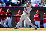 6 March 2010: New York Mets' outfielder Jason Pridie in action during a Spring Training game against the Washington Nationals at Space Coast Stadium in Viera, Florida. The Mets defeated the Nationals 14-6 in Grapefruit League action. Mandatory Credit: Ed Wolfstein Photo