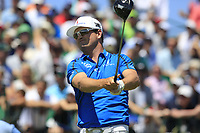Zach Johnson (USA) tees off the 1st tee to start his match during Friday's Round 2 of the 117th U.S. Open Championship 2017 held at Erin Hills, Erin, Wisconsin, USA. 16th June 2017.<br /> Picture: Eoin Clarke | Golffile<br /> <br /> <br /> All photos usage must carry mandatory copyright credit (&copy; Golffile | Eoin Clarke)