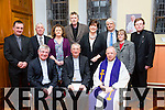 ST Johns Church Journeying in Hope with Guest Speaker Archbishop Diarmuid Martin on Tuesday. Pictured front Fr Sean Hanafin, Archbishop Diarmuid Martin,  Fr. Gerard Finucane, Back Fr. Francis Nolan, Bill Looney, Anne O'Shea-Daly, Conor Fitzgerald, Norma Foley, Denis Kelleher, Sr Celine O'Callaghan and Fr. Bernard Healy