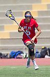 Torrance, CA 05/11/13 - Sophia Schade (Los Alamitos #5) during the 2013 Los Angeles/Orange County Championship game between Los Alamitos and Agoura.  Los Alamitos defeated Agoura 19-4.