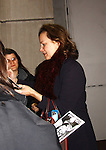 "As The World Turns' Margaret Colin ""Margo Hughes"" signs for fans as she stars in Broadway's ""The Columnist"" presented by the Manhattan Theatre Club on April 7, 2012 at the Samuel J. Friedman Theatre, New York City, New York. (Photo by Sue Coflin/Max Photos)"