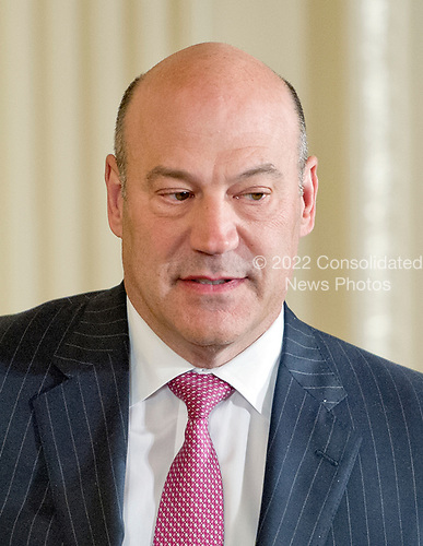 Gary D. Cohn, Director of the National Economic Council arrives prior to United States President Donald J. Trump and Secretary General Jens Stoltenberg of NATO conducting a joint press conference in the East Room of the White House in Washington, DC on Wednesday, April 12, 2017.<br /> Credit: Ron Sachs / CNP