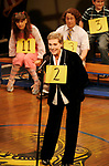 Julie Andrews and her daughter Emma Walton Hamilton, National Ambassadors for Kid's Night On Broadway, join the gang at THE 25th ANNUAL PUTNAM COUNTY SPELLING BEE on stage as guest spellers at The Circle In The Square Theatre in New York City.<br />