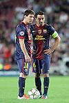 2012-09-19-FC Barcelona vs FC Spartak Moskva: 3-2 - Champions League 2012/13-Game: 1