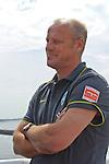 08.07.2010, Fähre, Norderney, GER, Trainingslager Werder Bremen 1. FBL 2010 - Day01 im Bild     Thomas Schaaf ( Werder  - Trainer  COACH) laechelt  Foto © nph / Kokenge