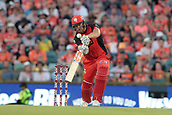 8th January 2018, The WACA, Perth, Australia; Australian Big Bash Cricket, Perth Scorchers versus Melbourne Renegades; Cameron White of the Melbourne Renegades drives down the ground during his innings