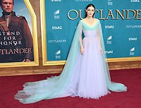 "13 February 2020 - Los Angeles, California - Sophie Skelton. ""Outlander"" Season 5 Los Angeles Premiere held at the Hollywood Palladium. Photo Credit: Birdie Thompson/AdMedia"