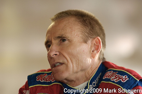 June 12 2009: Mark Martin at the LifeLock 400 at Michigan International Speedway in Brooklyn, MIchigan.