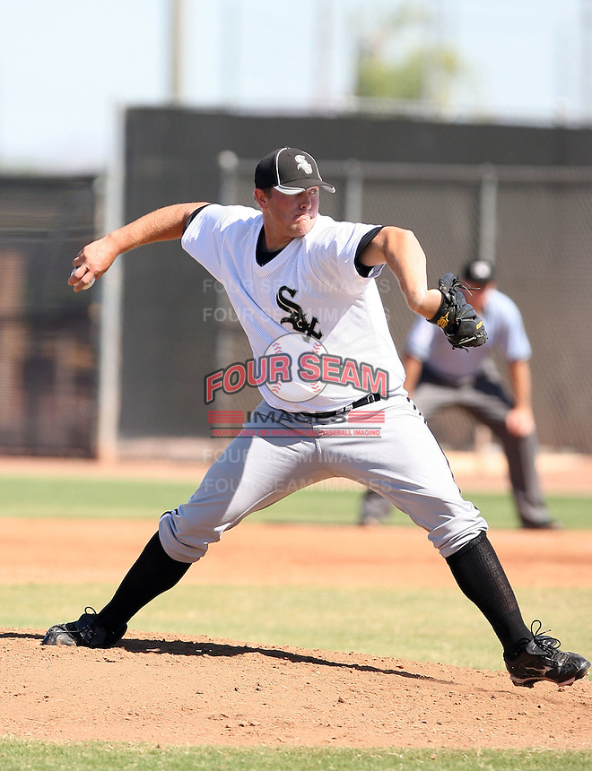 Ed McCray - Chicago White Sox - 2010 Instructional League.Photo by:  Bill Mitchell/Four Seam Images..