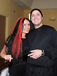 Sue Kelly and Barry Fitzgerald pictured at Rowan Wilkinson's 30th birthday in the Star and Crescent. Photo: www.pressphotos.ie