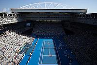 Ambience..Tennis - Australian Open - Grand Slam -  Melbourne Park  2013 -  Melbourne - Australia - Sunday 20th January  2013. .© AMN Images, 30, Cleveland Street, London, W1T 4JD.Tel - +44 20 7907 6387.mfrey@advantagemedianet.com.www.amnimages.photoshelter.com.www.advantagemedianet.com.www.tennishead.net