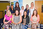 Celebrating Graduated from Early Childhood Care and Education ETB at the Kingdom Greyhound Stadium pictured front l-r Hazel Flynn, Sarah Dennehy, Rochelle O'Neill, Catriona Ferriter, back Leanne Doody, Rachel Barrett, Siobhan Delaney, Denise Culhane, Jessica Ebanus, Frances Moriarty
